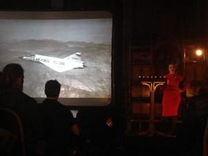Georgina Voss speaks at Haunted Machines