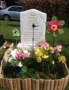 Matilda's grave