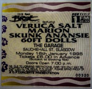 1995 Ticket
