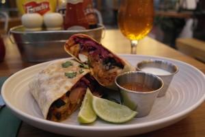 Burrito at The Beagle