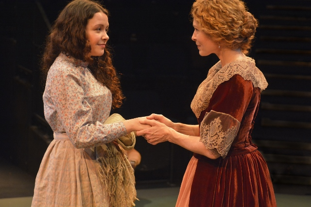 Natasha Davidson as Fanny Hawthron and Barbara Drennan as Mrs Jeffcote