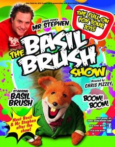 Basil Brush Poster