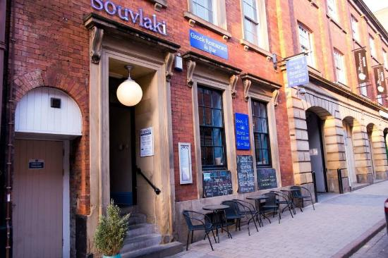 Souvlaki Greek Restaurant Bar Leeds