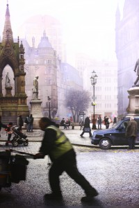 Albert Square, Manchester (after Valette), by Emily Allchurch, 2015. Photo by Matthew Graham, 2015.