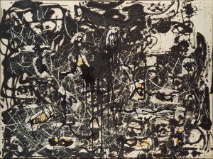 Jackson Pollock, Yellow Islands, 1952