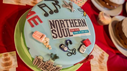 The Northern Soul cake by Chris Payne