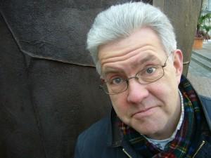 Ian McMillan, by Adrian Mealing