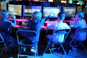 PLAY it! Gaming event, at the Museum of Science and Industry Manchester