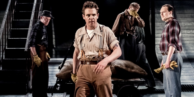 Jamie Sives - Arthur Miller's The Hook - Liverpool Everyman Theatre by Manuel Harlan