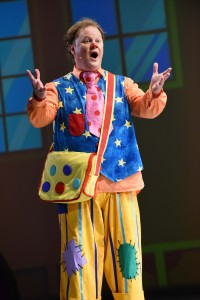 Justin Fletcher in The Tale of Mr Tumble. MIF15, by Robert Day
