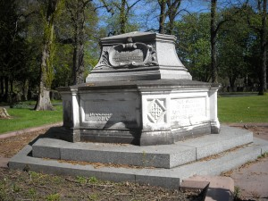 The grave of John Rylands in Southern Cemetery by Andy Murray