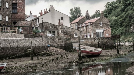 Staithes estuary 2 by Chris Payne
