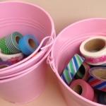 Buckets of Washi Tape