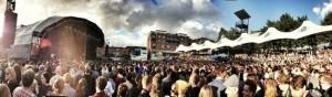 Bjork at Castlefield Arena, by Chris Payne