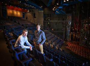 James Brining and Robin Hawkes
