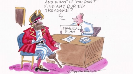 Cartoon by David Haldane