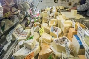 Bury Market Cheese by Chris Payne