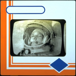 Joe Tilson, Transparency I Yuri Gagarin 12 April 1961 1968