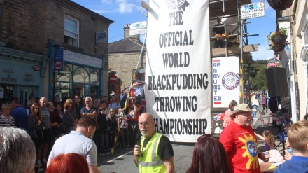 Ramsbottom's World Black Pudding Throwing Championships