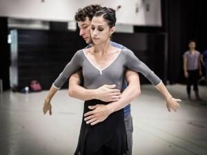 Northern Ballet's 1984 - rehearsals