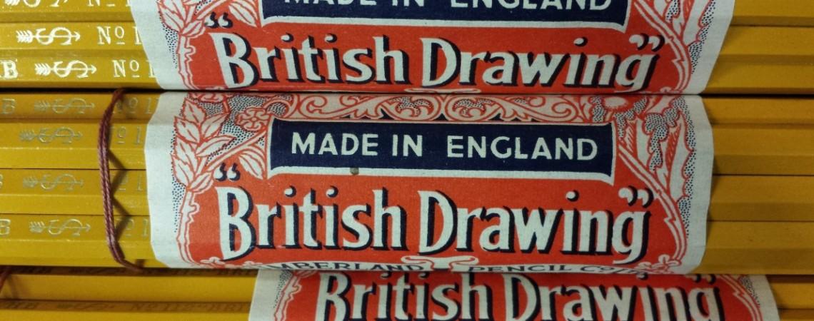 British Drawing Pencils