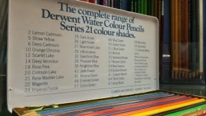 Derwent Water Colour Pencils