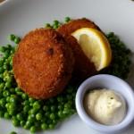 Fish cakes at Tate Cafe, photo by Damon Fairclough