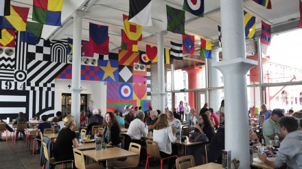 Tate Cafe - copyright Tate Liverpool