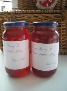 Rowan and Crabapple jelly