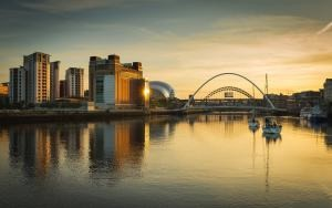 Boats on the Tyne by Phil Pounder