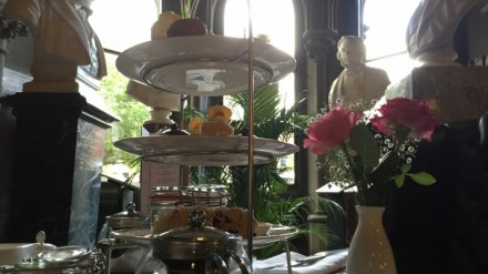 Afternoon Tea at the Sculpture Hall Café