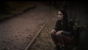 Rachel Austin in Black Roses