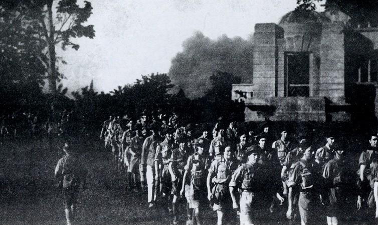 British POWs captured in Singapore