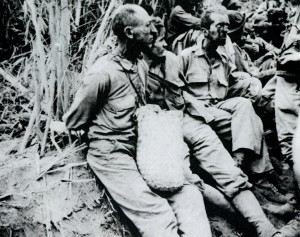 US POWs during the Death March