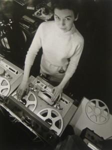 Delia Derbyshire in 1965