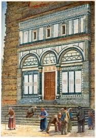 TM Rooke, Badia of Fiesole, 1 887. Image O the Guild of St George, Museums Sheffield.
