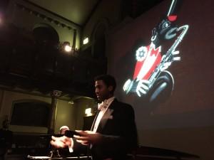 Peter Brathwaite introduces his music
