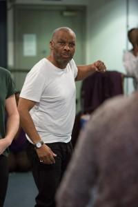 King Lear Rehearsals: Don Warrington(King lear)