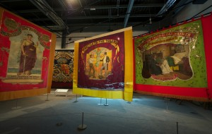 Banners section, Main Gallery Two -® People's History Museum