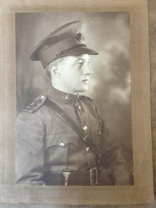 Patrick King in the uniform of the Irish Free State