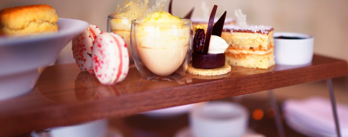 Afternoon tea at Manchester House