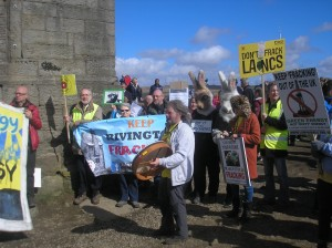 Anti fracking campaigners