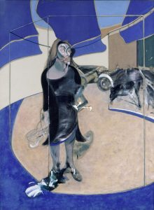 Francis Bacon, 1909-1992 Portrait of Isabel Rawsthorne Standing in a Street in Soho 1967 Oil paint on canvas 1980 x 1475 mm