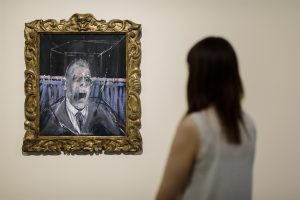 Study for a Portrait 1952 by Francis Bacon on display in Francis Bacon: Invisible Rooms at Tate Liverpool until 18 September 2016. © Tate Liverpool, Roger Sinek