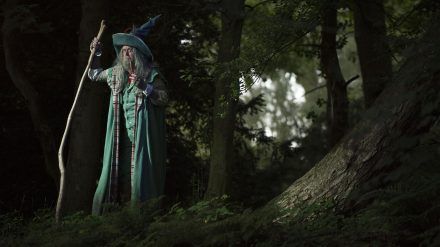 Russell Richardson as Gandalf