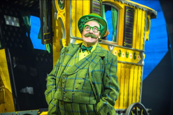 Rufus Hound in Wind in the Willows