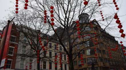 Red Lanterns, Chinese New Year, Manchester