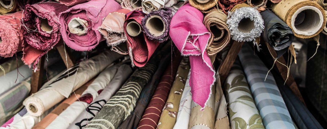 Fabric at Bury Market, image by Chris Payne
