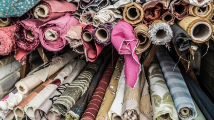 Fabric at Bury Market, image by Chris Payne