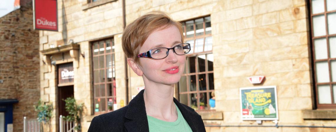 The Dukes new Artistic Director, Sarah Punshon